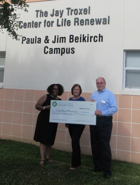 Talbot House receives check from Publix