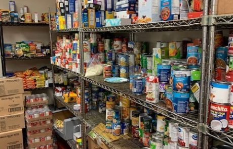 Food Pantry without people