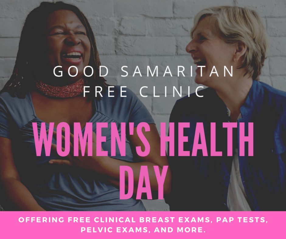 Offering free clinical breast exams pap tests pelvic exams and more.