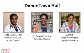 Copy of Copy of Donor town hall oct newsletter
