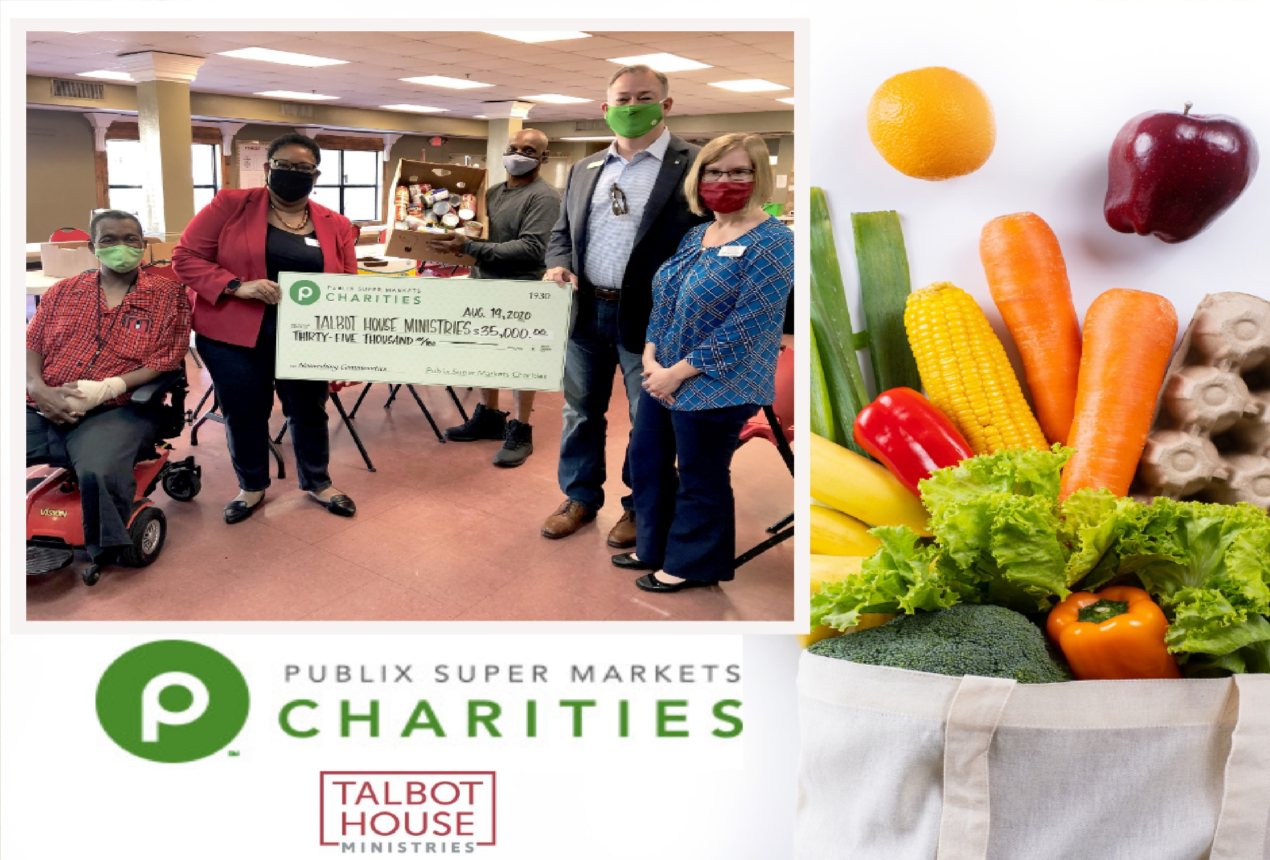 Thank You, Publix Super Markets Charities!