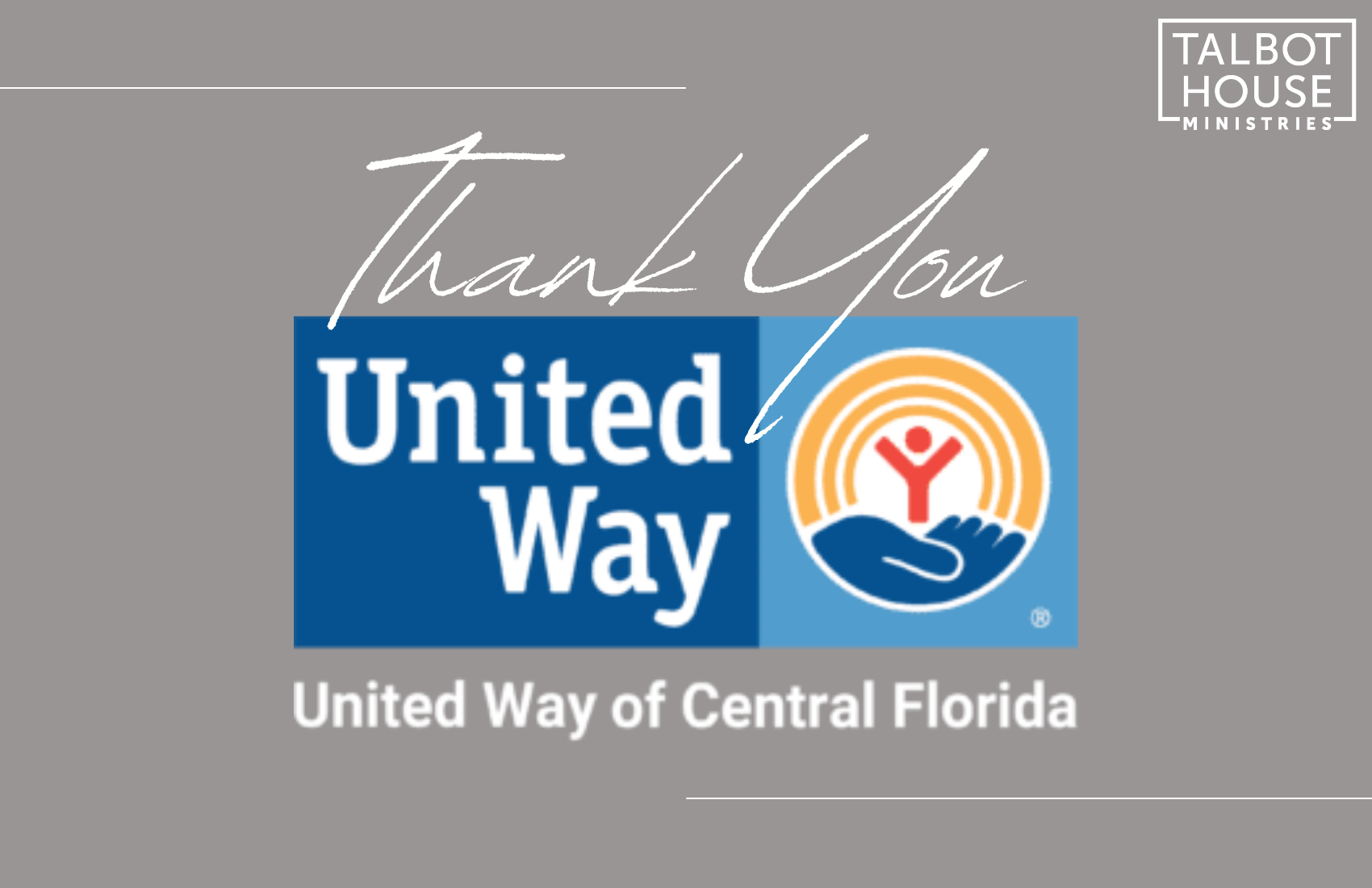 Thanking United Way of Central Florida